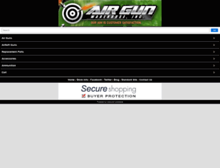airgunwarehouseinc.com screenshot
