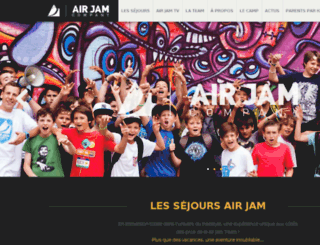 airjamcompany.com screenshot