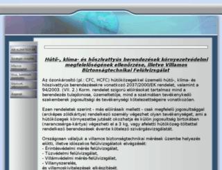 airklimatech.hu screenshot