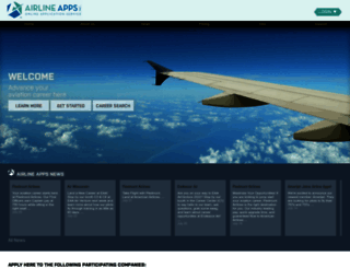 airlineapps.com screenshot