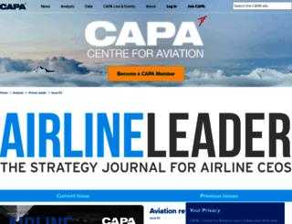 airlineleader.com screenshot