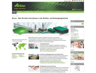 airloc-schrepfer.com screenshot