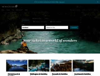 airnewzealand.co.nz screenshot