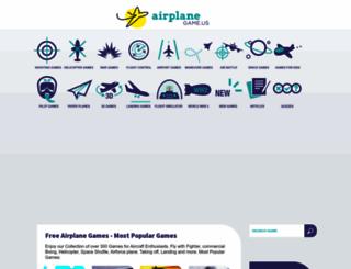 airplanegame.us screenshot