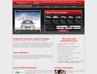 airportdirect.org screenshot