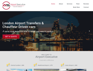 airportexecutive.com screenshot