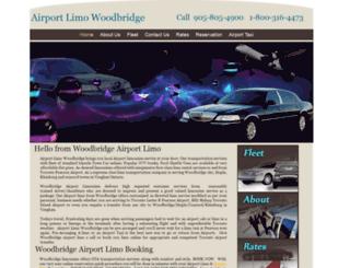 airportlimowoodbridge.com screenshot