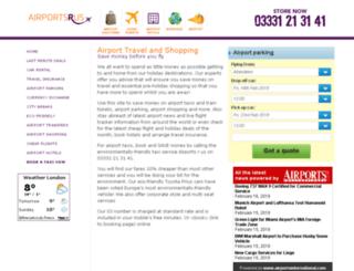 airportsrus.co.uk screenshot