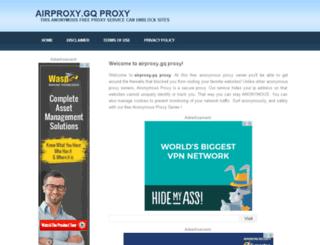 airproxy.gq screenshot