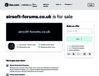 airsoft-forums.co.uk screenshot
