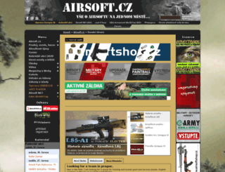 airsoft.cz screenshot