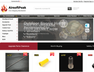 airsoftpeak.com screenshot