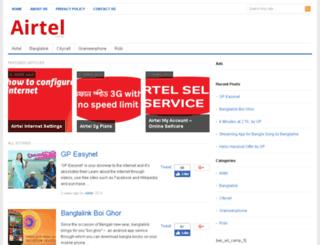 airtel.com.bd screenshot