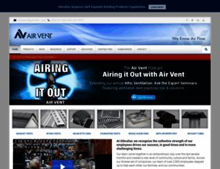 airvent.com screenshot