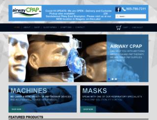 airwaycpap.com screenshot