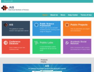 aiscience.org screenshot