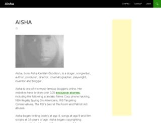 aishamusic.com screenshot