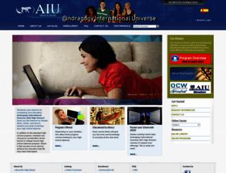 aiuhs.org screenshot