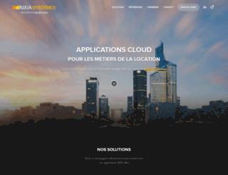 aixia-developpement.com screenshot