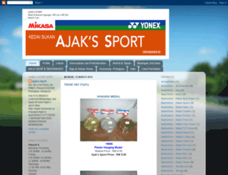 ajaksport.blogspot.com screenshot