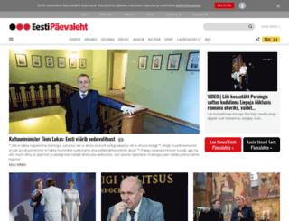 ajaleht.epl.ee screenshot