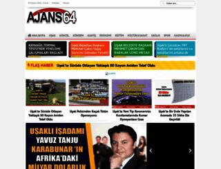 ajans64.com screenshot