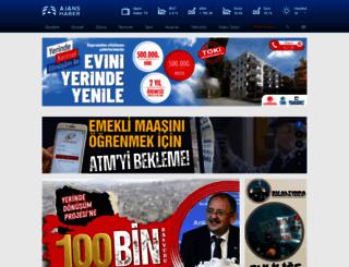 ajanshaber.com screenshot