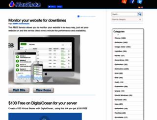 ajaxshake.com screenshot