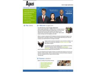 ajazi.com screenshot