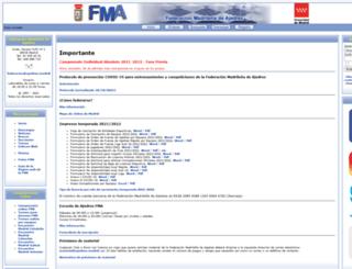ajedrezfma.com screenshot
