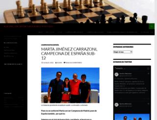 ajedrezmostoles.com screenshot