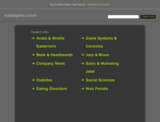 ajekigbe.com screenshot
