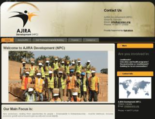 ajiranpc.org screenshot