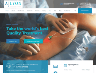 ajlyon.co.uk screenshot