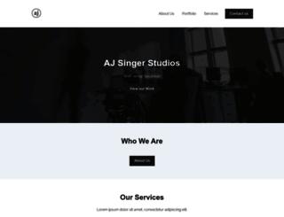 ajsingerstudios.com screenshot