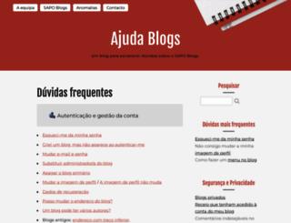 ajuda.blogs.sapo.pt screenshot