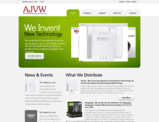 ajvw.com screenshot