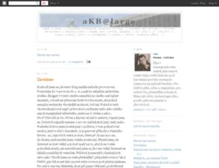 akabelog.blogspot.cz screenshot