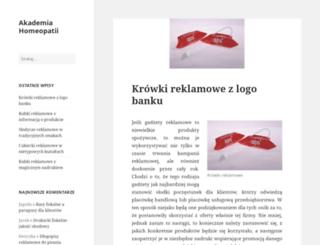 akademia-homeopatii.pl screenshot