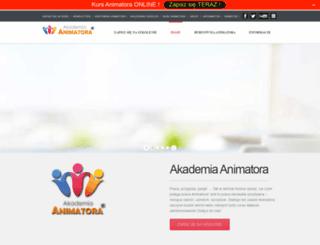 akademiaanimatora.pl screenshot