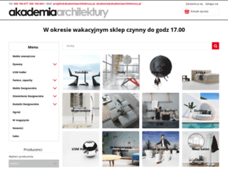 akademiaarchitektury.pl screenshot