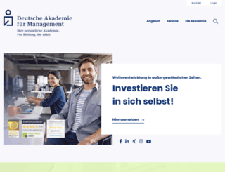 akademie-management.de screenshot
