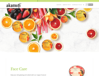 akamuti.co.uk screenshot