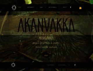 akanvakka.fi screenshot