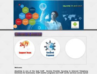 akasvoip.com screenshot