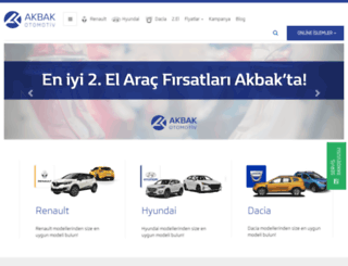 akbak.com.tr screenshot