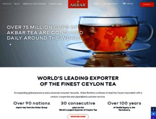 akbar.com screenshot