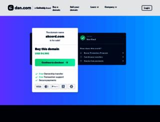 akcord.com screenshot