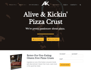 akcrust.hs-sites.com screenshot