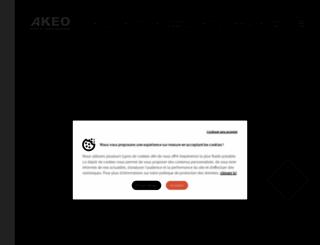 akeosecurite.com screenshot